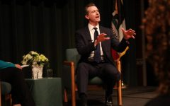 California Lt. Gov. Gavin Newsom speaking during a forum hosted by the Campaign for College Opportunity as he runs for governor of California. Newsom declared a state of emergency on March 4 in response to the coronavirus.