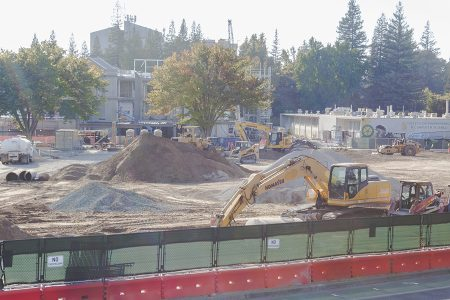 Construction began for what was then called Science II on Oct. 22, 2017. Now dubbed the Ernest E. Tschannen Science Complex, the site will feature a planetarium and brand-new science buildings.