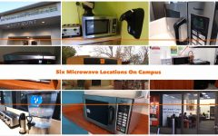 6 convenient microwave locations at Sac State