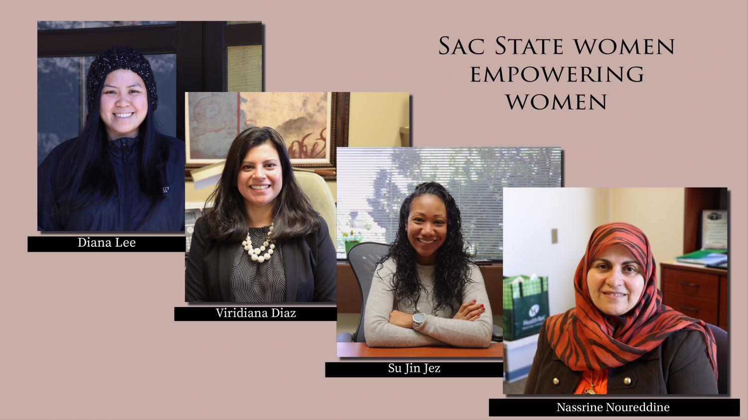 Women's History Month is being celebrated through the end of March. Women at Sac State speak out on the representation of colored women on campus.
