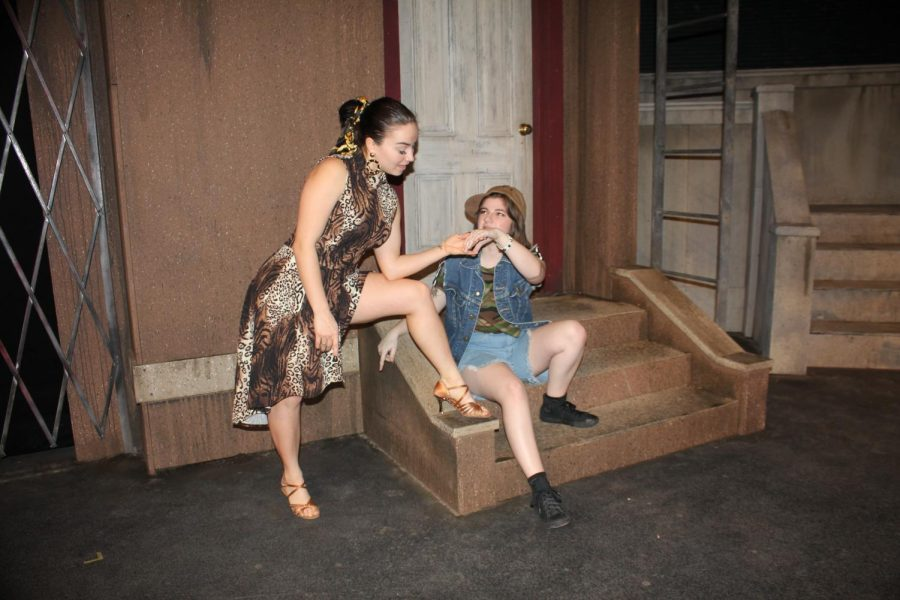 Angela Kruts and Nicole Kelly are two of the actors in the upcoming musical