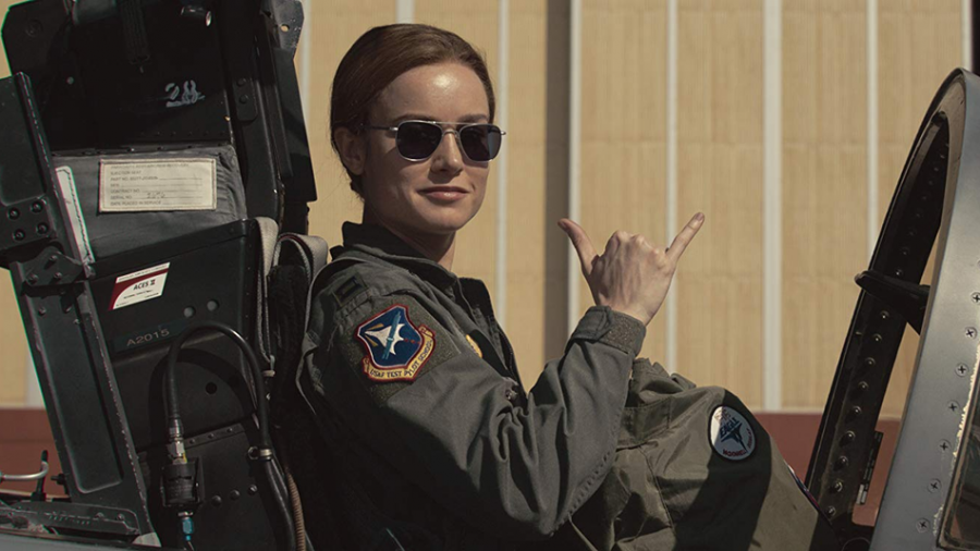 Brie Larson plays Carol Danvers, also known as Captain Marvel, in Marvel's latest film.