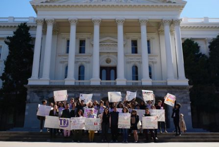 Students rally in Sacramento for college campus abortion care