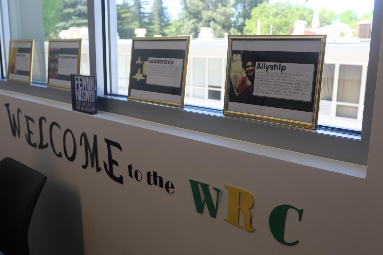The Women's Resource Center on the second floor of the University Union. After several years of sharing a space with the Pride Center, the WRC has its own office space that came along with the new union renovation.