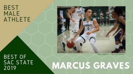 Marcus Graves named 'Best Male Athlete' at Sac State