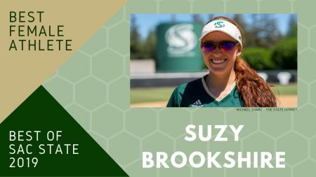 Softball player Suzy Brookshire voted Sac State's 'Best Female Athlete'