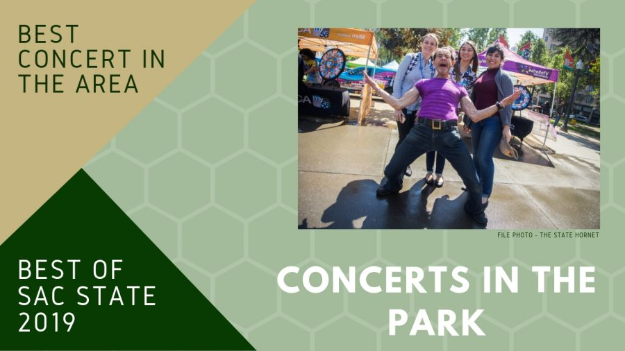 Concerts in the Park wins 2 Best of Sac State categories