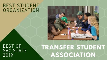 Transfer Student Association named Sac State's 'Best Campus Club'
