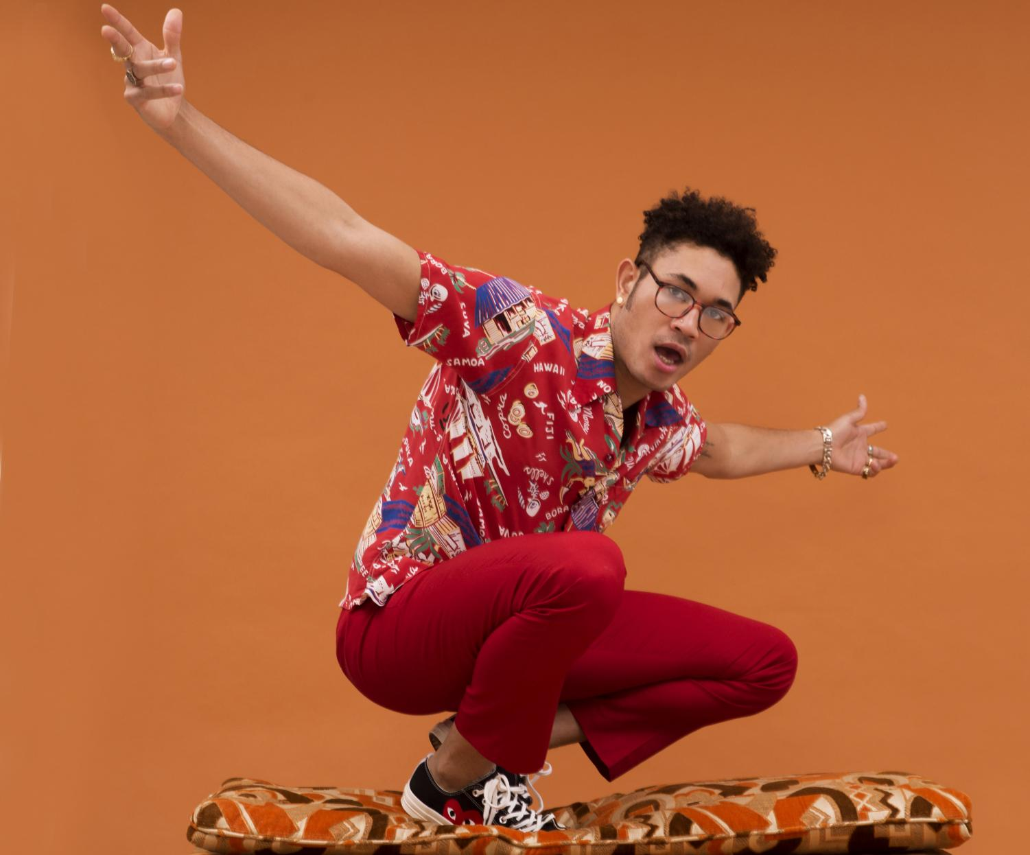 "Singer and rapper Bryce Vine released his his latest single, ""La La Land"