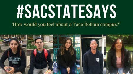 #SacStateSays: 'How would you feel about a Taco Bell on campus?'