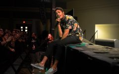 Rapper Bryce Vine performs at Sac State in UNIQUE's last concert of the semester