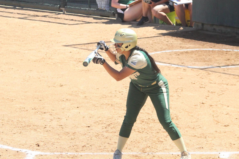 Nene Alas is finishing her final season at Sac State. The senior from San Bernardino is hitting .353 this season.