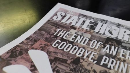 Video: The State Hornet prints its last issue ever