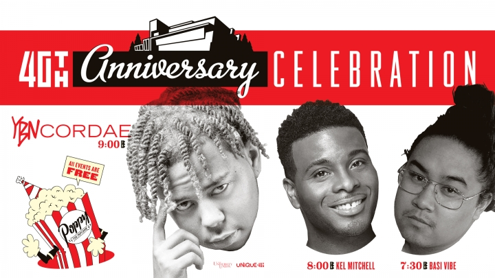 YBN Cordae, Kel Mitchell and Basi Vibe are coming to Sac State on April 11 to celebrate UNIQUE Programs' 40th anniversary. This event is exclusively for Sac State students.