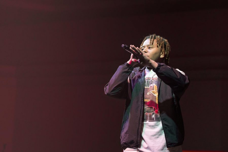 YBN Cordae, member of the hip-hop collective
