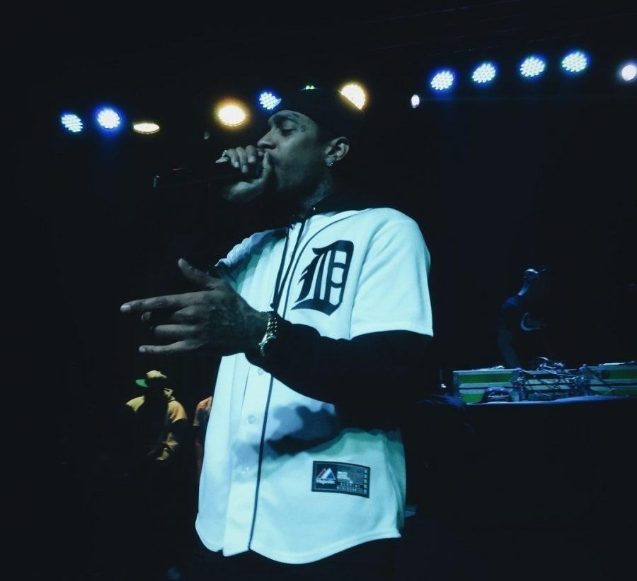 Nipsey+Hussle+performing+on+April+20%2C+2014.+Rapper+Nipsey+Hussle+was+pronounced+dead+on+Mar.+31%2C+as+he+was+shot+outside+of+his+clothing+store+in+Los+Angeles.+