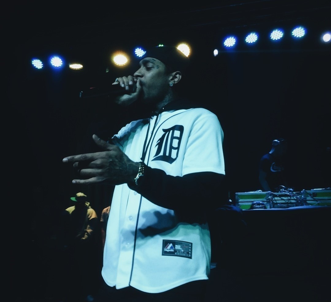 Nipsey Hussle performing on April 20, 2014. Rapper Nipsey Hussle was pronounced dead on Mar. 31, as he was shot outside of his clothing store in Los Angeles.