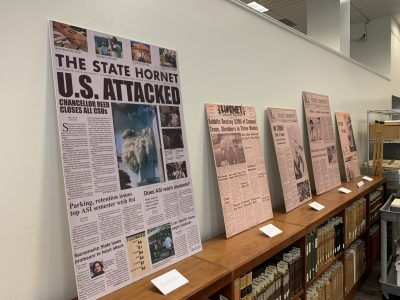 70 years of The State Hornet cataloged in Sac State exhibit