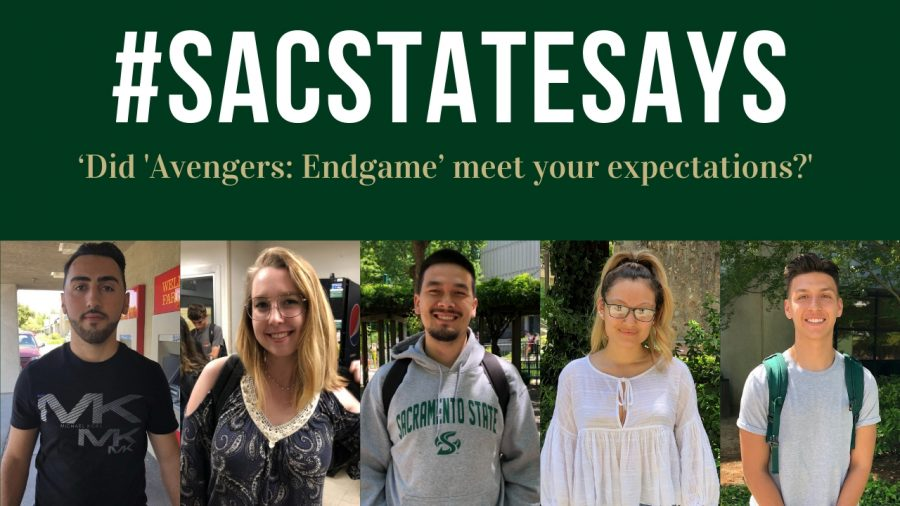 SacStateSays: 'Did 'Avengers: Endgame' meet your