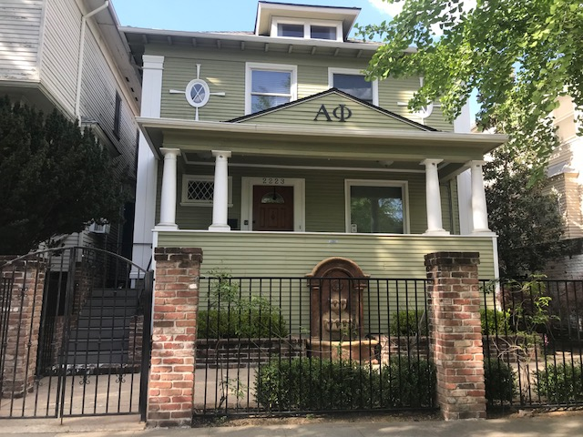 Sac State's Alpha Phi chapter house is located in Midtown Sacramento. According to Student Organization & Leadership Interim Director, Nicki Croly, Alpha Phi has its own housing policies that are seperate from the university.