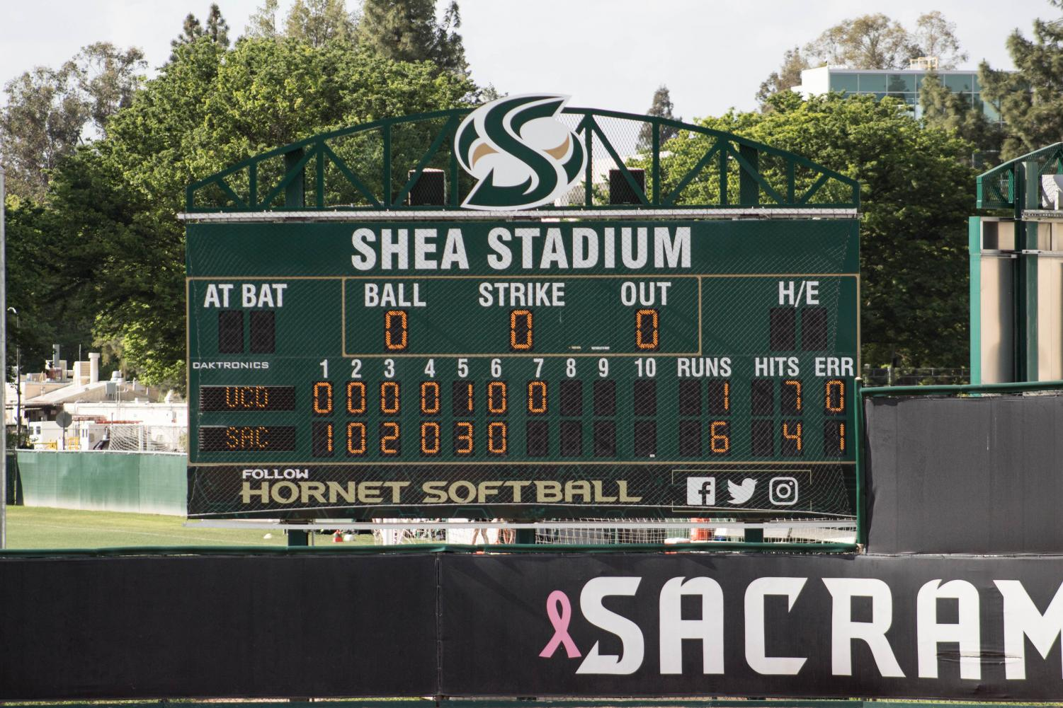 The+final+score+between+Sac+State+against+UC+Davis+Tuesday%2C+April+30.+The+final+score+was+6-1%2C+with+Sac+State+taking+the+win.