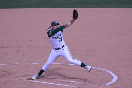 Pitching hampers Hornets in softball's 7-11 loss to Southern Utah