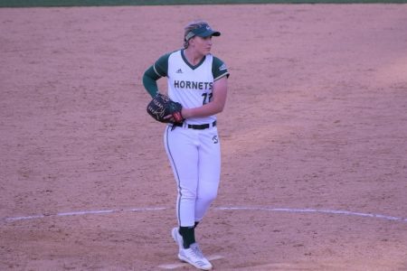 Softball team moves into first place in Big Sky after series win over North Dakota