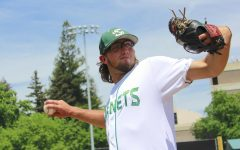 Sac State junior pitcher Austin Roberts was selected by the Pittsburgh Pirates in the eighth round of the 2019 MLB Draft. Roberts split time as a starting and relief pitcher during his three seasons at Sac State.