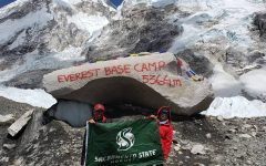 Former Sac State student makes trek to Mount Everest's South Base Camp