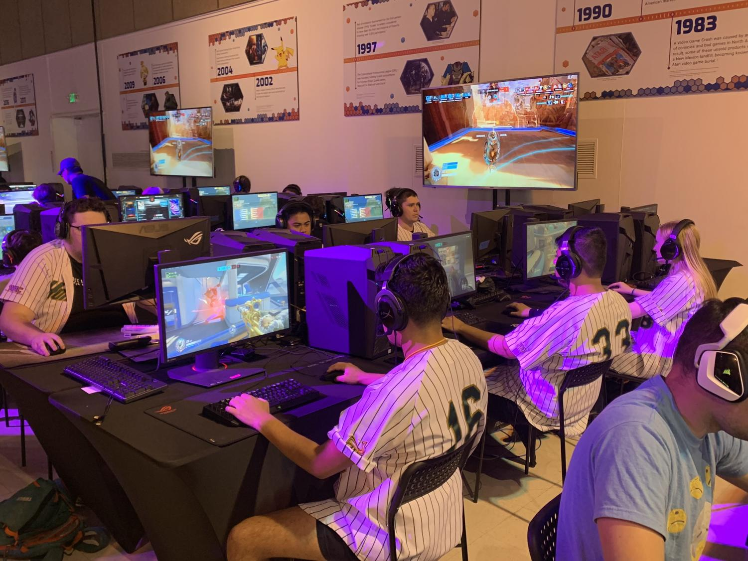 Sac State esports team competes in California State Fair