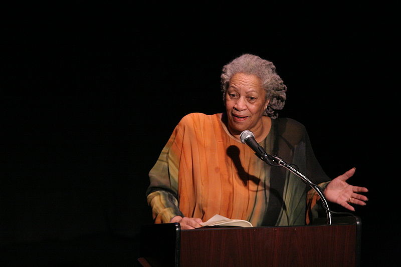 Toni+Morrison+speaks+in+honor+of+Nigerian+poet+and+novelist+Chinua+Achebe+at+the+Town+Hall+performance+space+in+New+York+City+on+Feb.+26%2C+2008.+Morrison+died+Monday%2C+August+5+at+the+age+of+88.