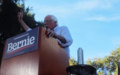Presidential candidate Bernie Sanders talks Green New Deal at Sacramento rally
