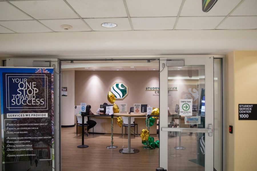 Sac State's Student Service Center in Lassen Hall where students can receive help for financial aid. Starting in the summer of 2020, students will be able to receive financial aid for their summer courses as well.
