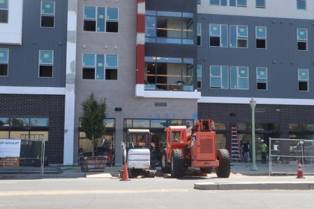 Construction at Academy 65. The housing complex, located on 65th St. Across from Elvas Ave., has had to delay move-in dates by over three weeks.