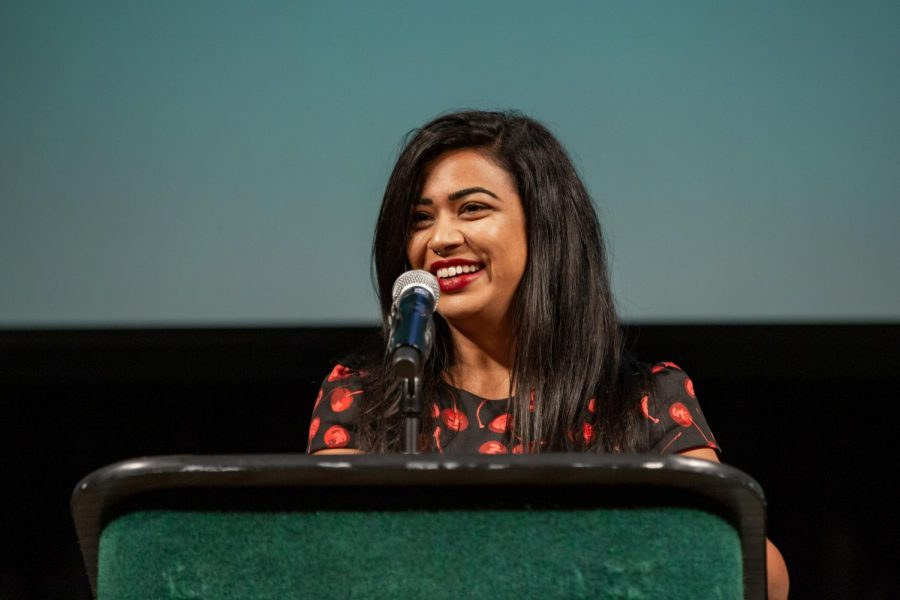 Nazia+Kazi%2C+assistant+professor+of+anthropology+at+Stockton+University+in+New+Jersey%2C+spoke+to+students+regarding+the+history+of+Islamophobia.+Kazi+discussed+her+new+book%2C+which+analyzes+the+racism+and+politics+in+America+that+contributed+to+Islamophobia+and+later%2C+motivated+respectability+politics.
