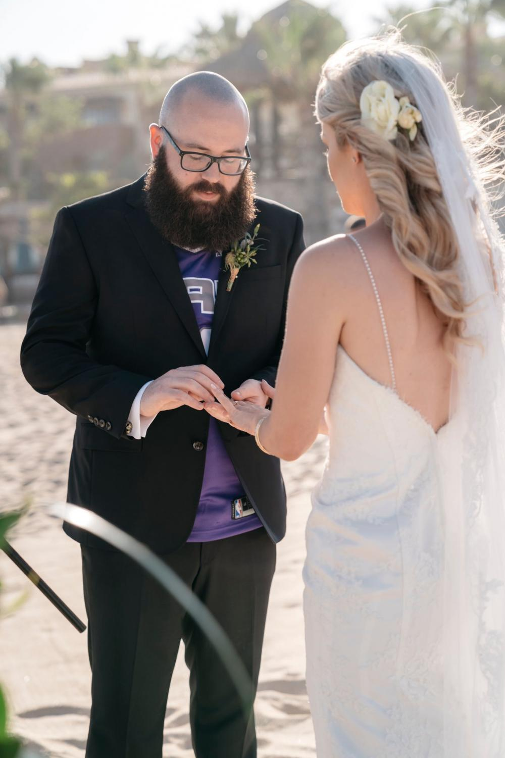 State+Hornet+sports+features+reporter+Richard+Ivanowski+puts+a+ring+on+his+wife+Kate%27s+finger+at+his+wedding+on+Saturday%2C+June+15+in+Cabo+San+Lucas%2C+Mexico.