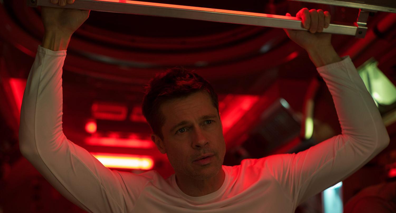 Brad Pitt as Roy McBride in 20th Century Fox's