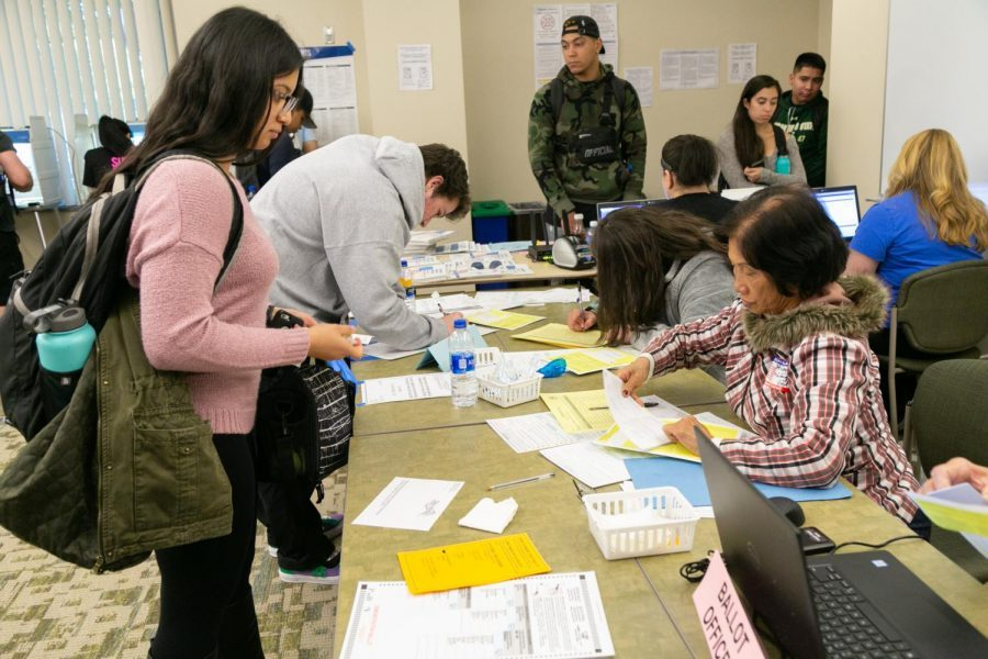 Sac State vote center will begin operating Saturday