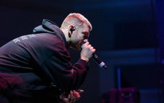 Marc E. Bassy performed for his fourth time at Sac State for a concert hosted by UNIQUE Programs Thursday, Oct. 17.  Before putting out his own work, Bassy was a songwriter for artists such as Sean Kingston, Wiz Khalifa and Ty Dolla $ign.