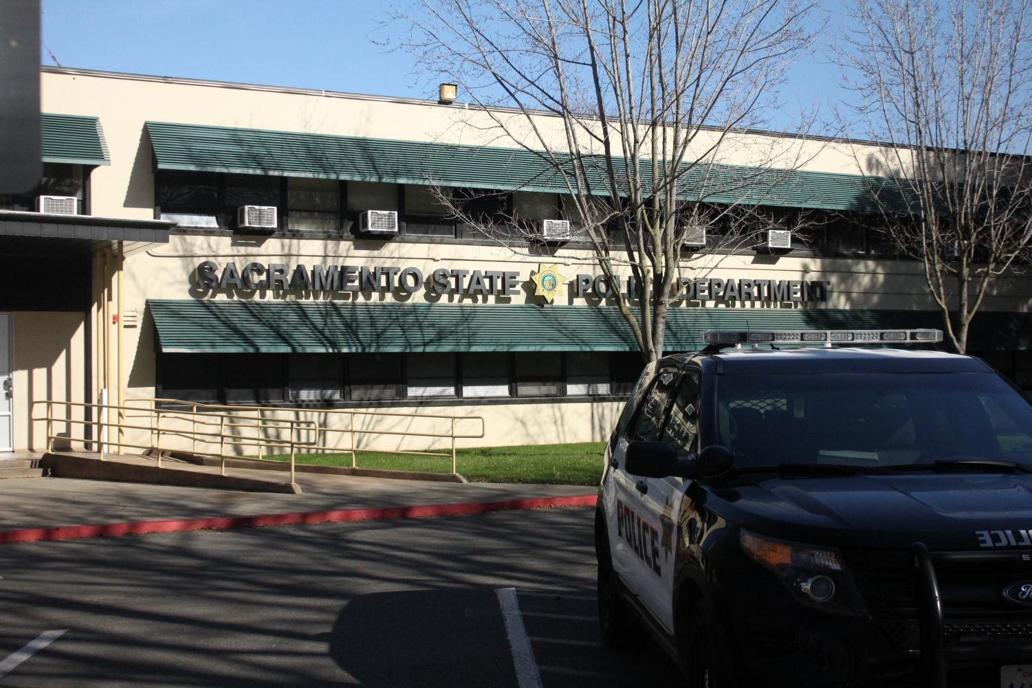 Photo of the Sac State Police Department. The Clery Report showed 30 instances of sexual assault on campus in 2018 compared to four in 2017. University officials have suggested that the increase was due to one individual report.