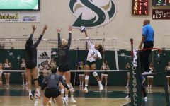 Sac State volleyball team sweeps Portland State in 3 sets
