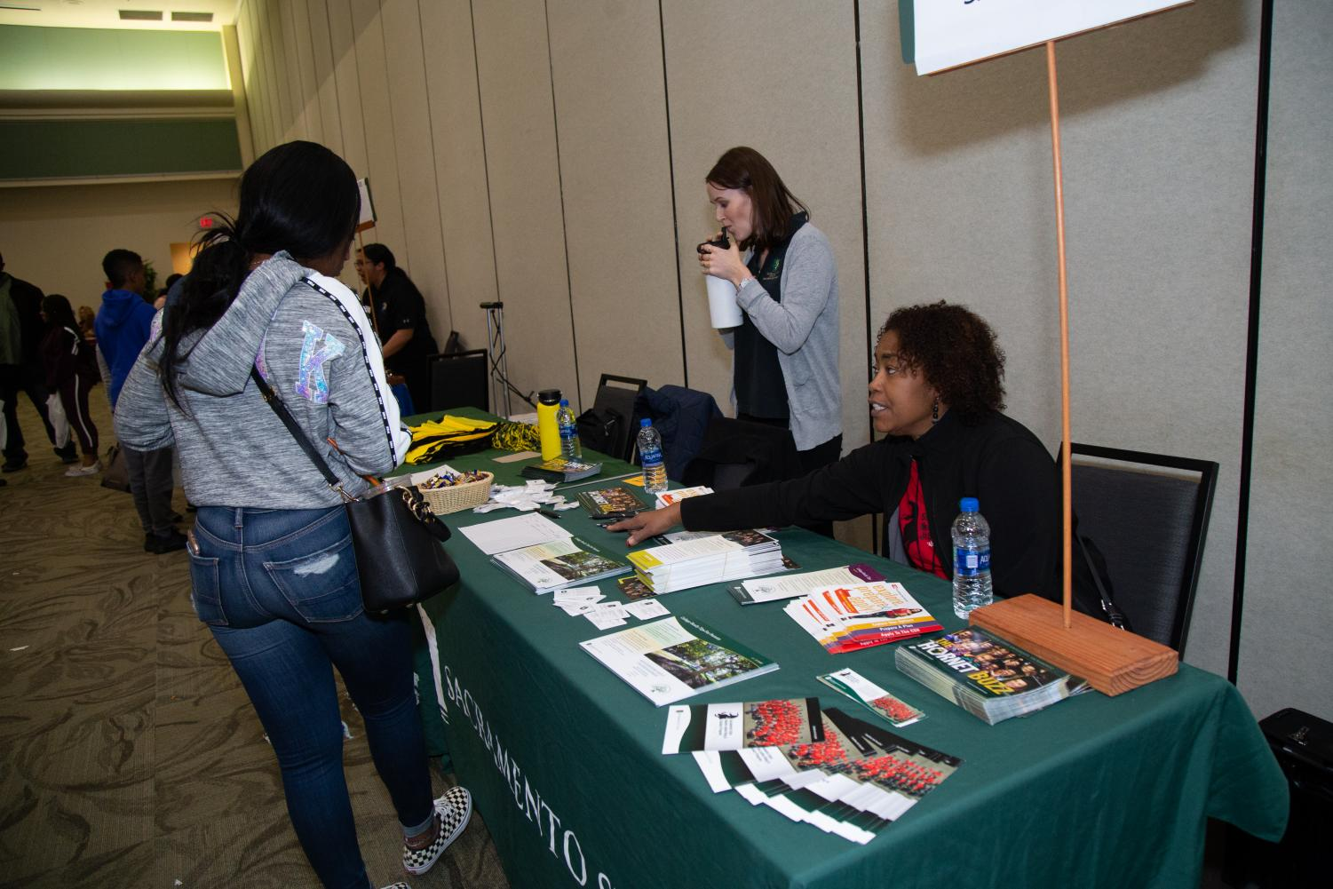 A photo of the Black College Expo at Sac State in January. The expo is planned to happen again on Saturday, Nov. 23.