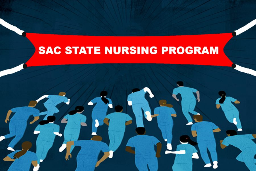 Photo illustration. The nursing program at Sac State is extremely competitive, accepting a maximum of 80 students per semester. While the GPA requirement for admission is a minimum of 3.3, the average GPA for those admitted the last four years has been over 3.95.