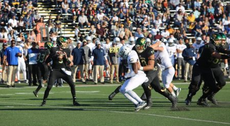 Hornets improve to 3-1 in Big Sky with 4th-string QB