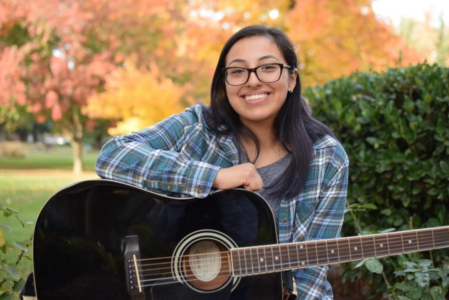 Adriana+Gallegos%2C+a+gerontology+major%2C+performed+a+song+with+her+guitar+at+this+year%27s+Sac+State%27s+Got+Talent+show.+Sac+State%27s+Got+Talent+was+held+in+the+University+Union+on+Thursday%2C+Nov.+14.