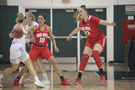 Ohio State defeats Sac State women's basketball team 104-74