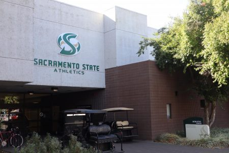 The Sacramento State Athletics building. As the Sac State football team is enjoying their best season in decades, Athletics continues to struggle with an ongoing multimillion-dollar deficit.