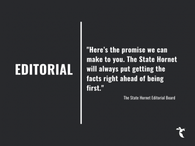 EDITORIAL: It's better to get it right than to get it first