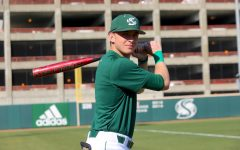 Sac State sophomore outfielder Trevor Doyle poses for a photo at practice on Thursday, Feb. 6 at John Smith Field. Doyle started in 49 games as a freshman and had eight multi-hit games in 2019.