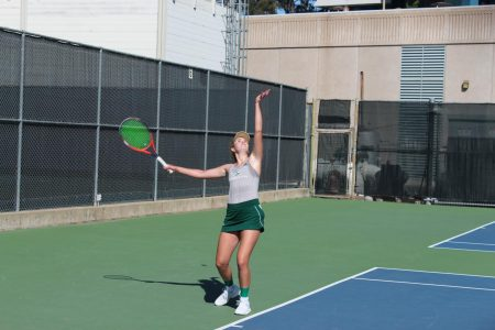 Women's tennis takes down Montana to win Big Sky Championship